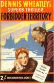 (84th reprint cover for The Forbidden Territory)