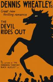 (1st edition wrapper for The Devil Rides Out)