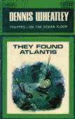 1966 cover for They Found Atlantis