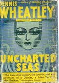 (1940 reprint cover for Uncharted Seas)