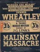 (? re-issue cover for The Malinsay Massacre)