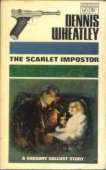 (1966 cover for The Scarlet Impostor)