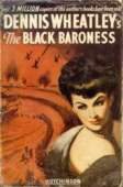 (c.1949 wrapper for The Black Baroness)