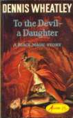 1964 cover for To The Devil A Daughter
