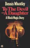 1969 cover for To The Devil A Daughter