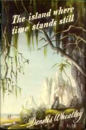 wrapper for the Book Club edition of The Island Where Time Stands Still