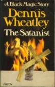 (1975 reprint cover for The Satanist)