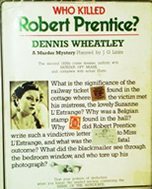 (Who Killed Robert Prentice? cover image)